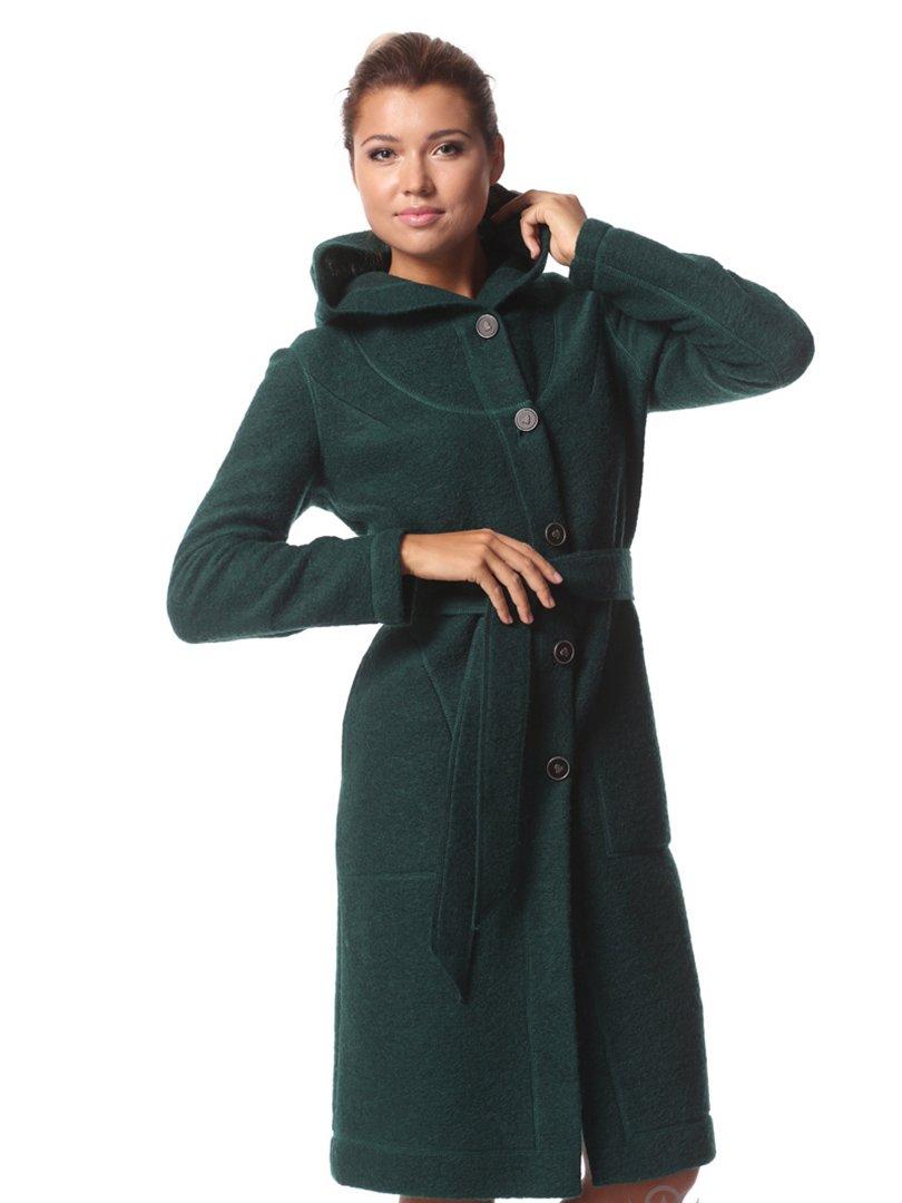 Пальто изумрудного цвета | 2045307