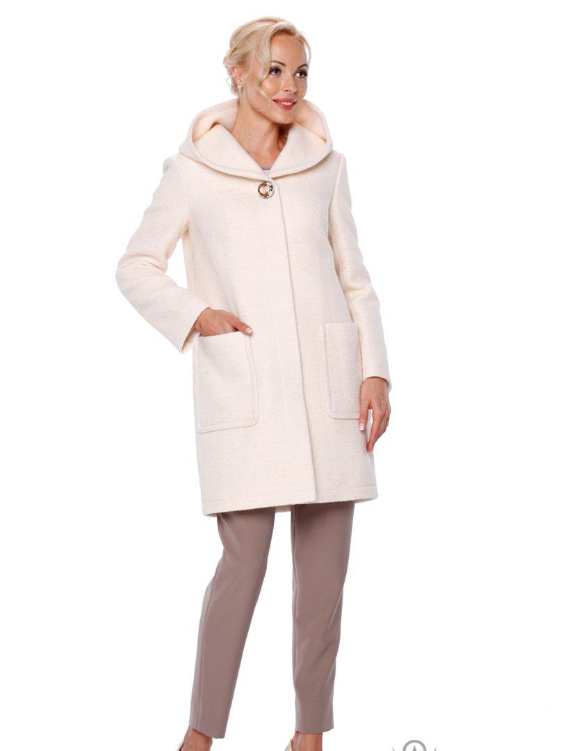 Пальто молочного цвета | 2908049