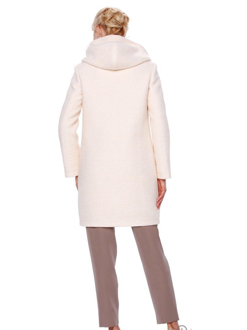 Пальто молочного цвета | 2908049 | фото 2