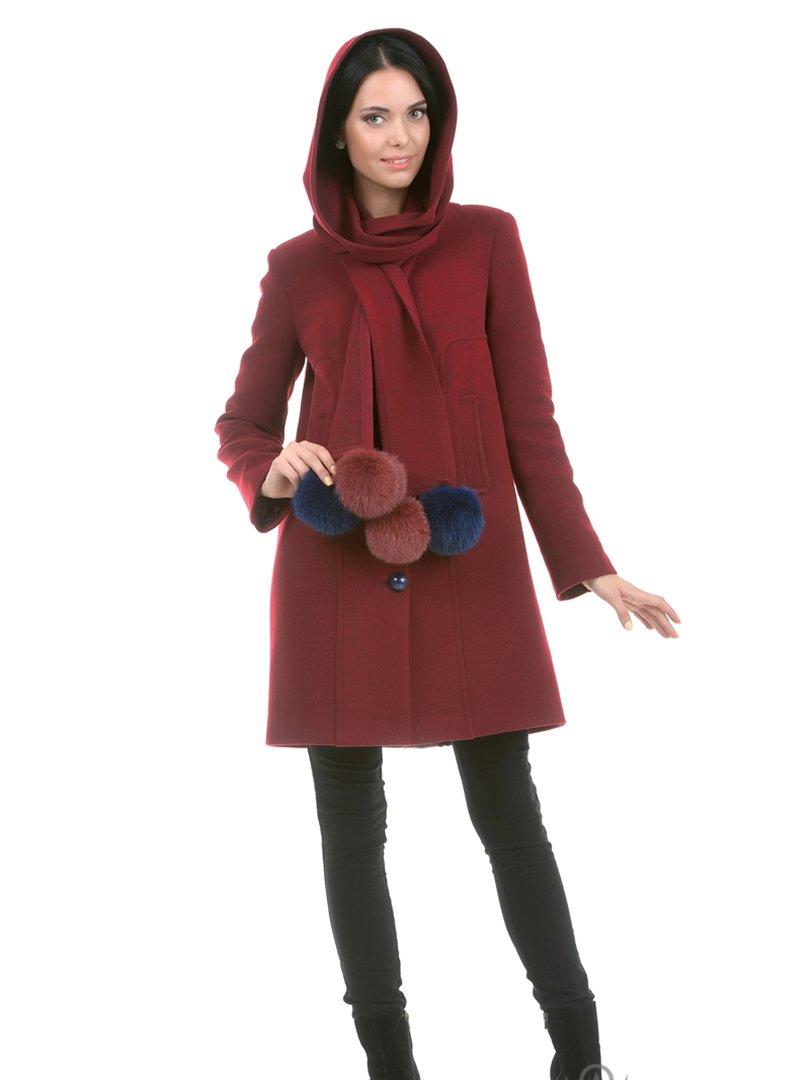 Пальто бордове | 2908052