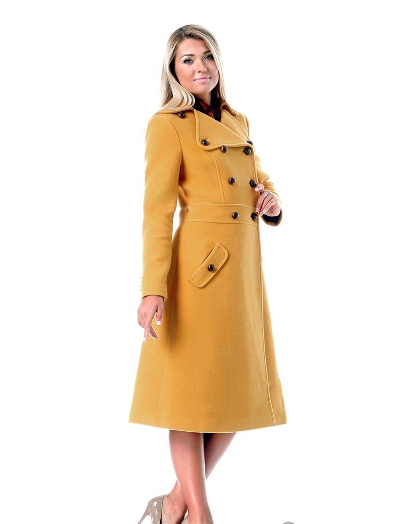 Пальто желтое | 2045294