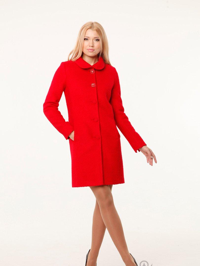 Пальто красное   2045298