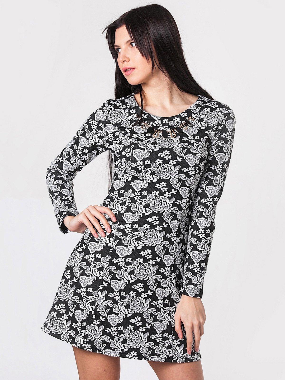 Платье цветочной расцветки | 2912135