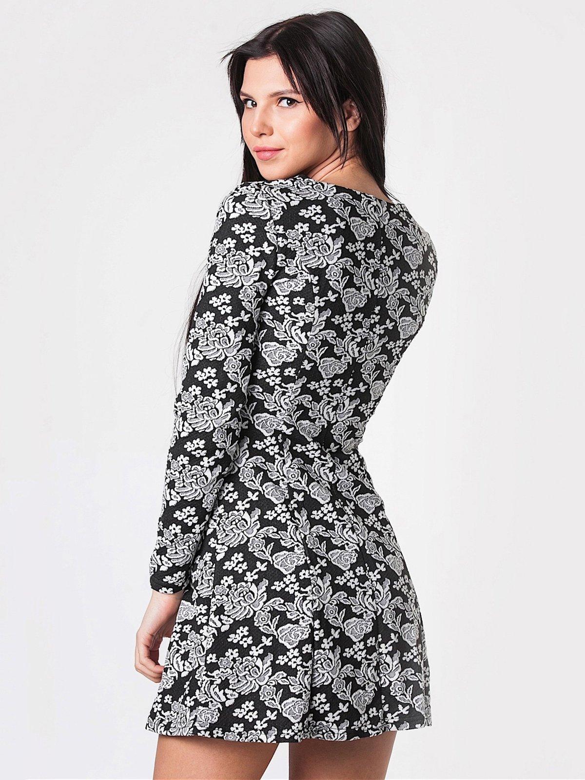 Платье цветочной расцветки | 2912135 | фото 3