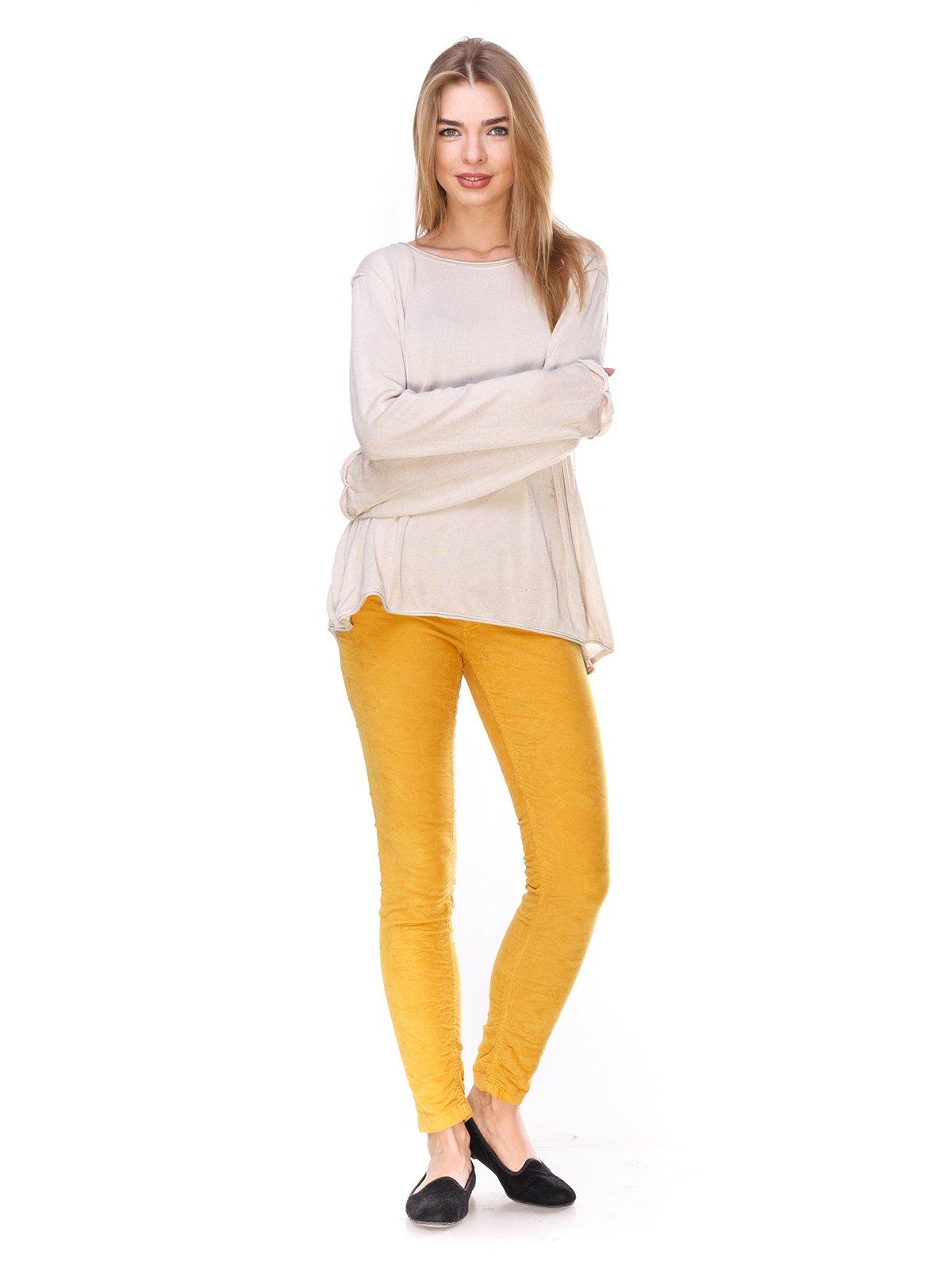 Джинсы желтые   2932442