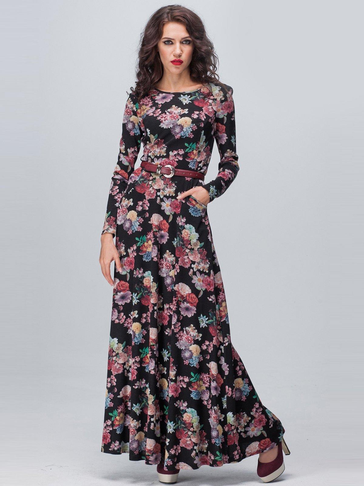 Сукня квіткового забарвлення | 1921423