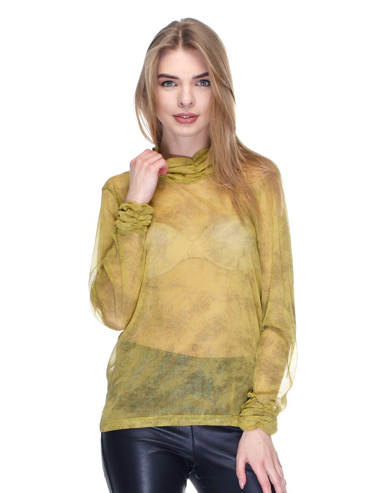 Джемпер оливкового цвета   2946693