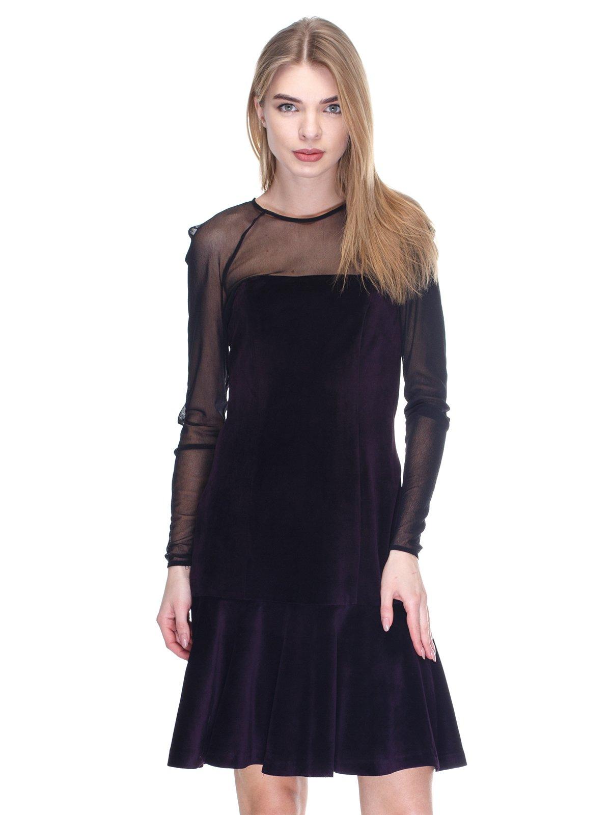 Платье темно-фиолетовое | 2946803