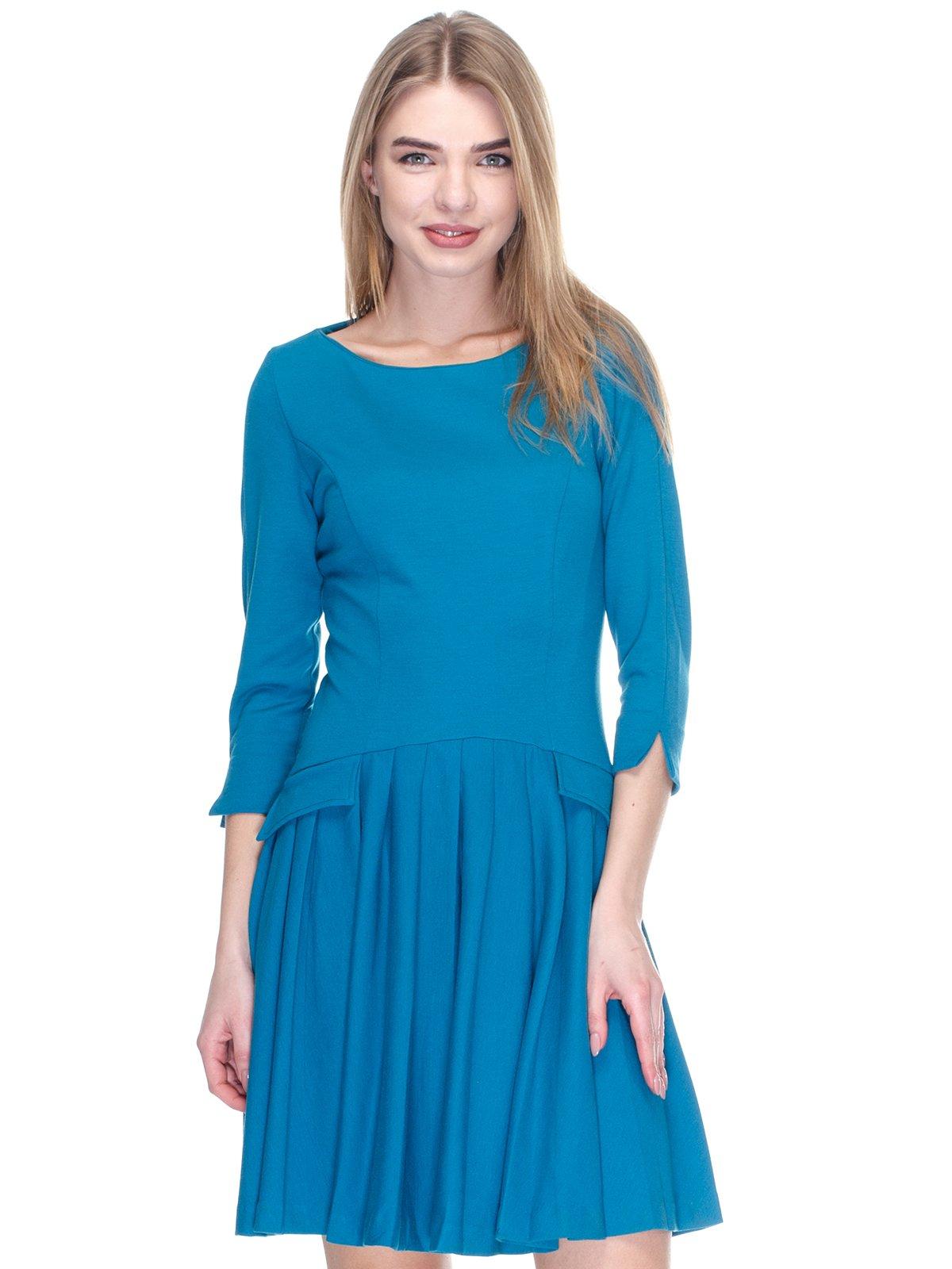Платье бирюзовое   2946812