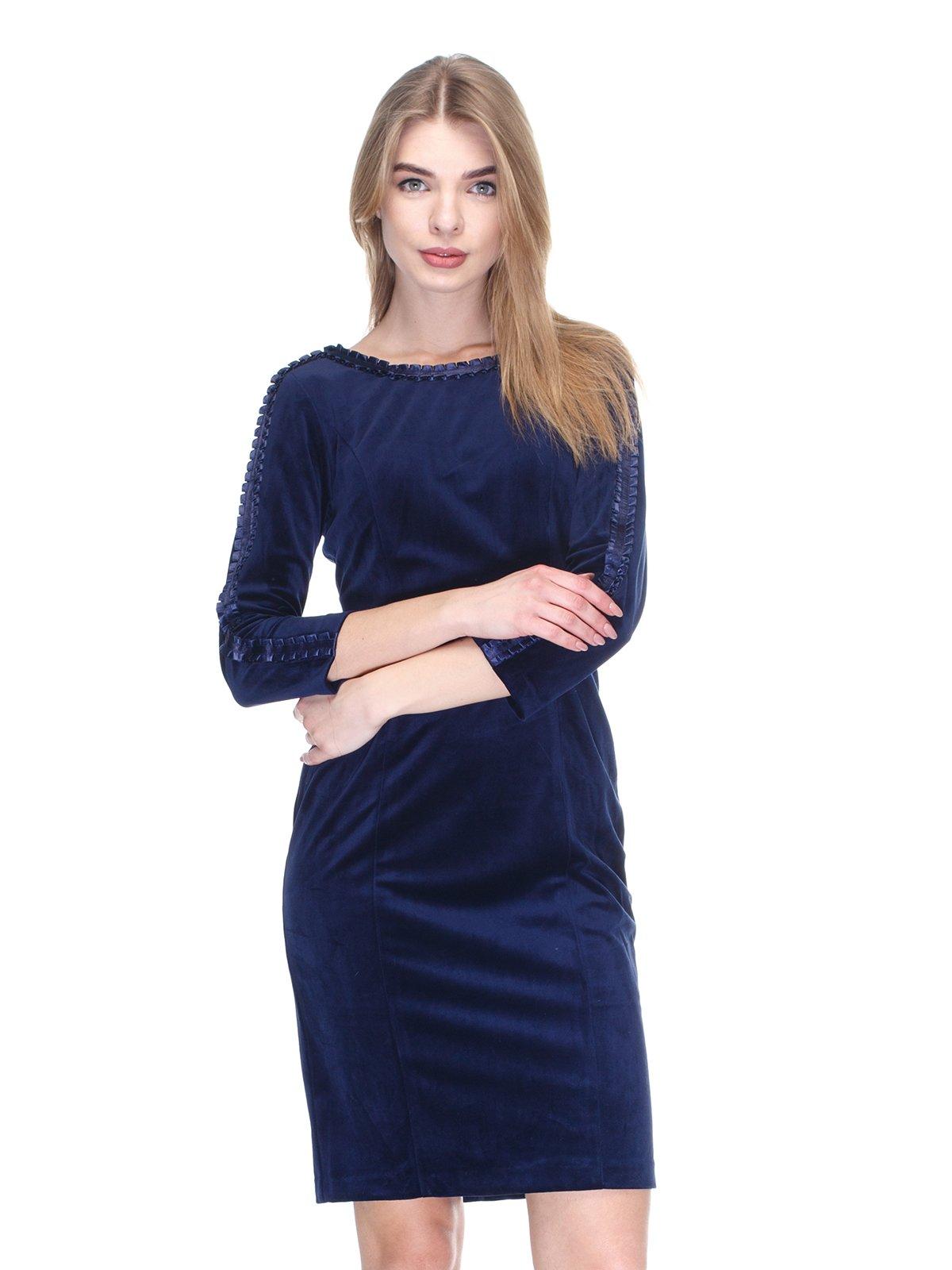 Платье синее | 2946806