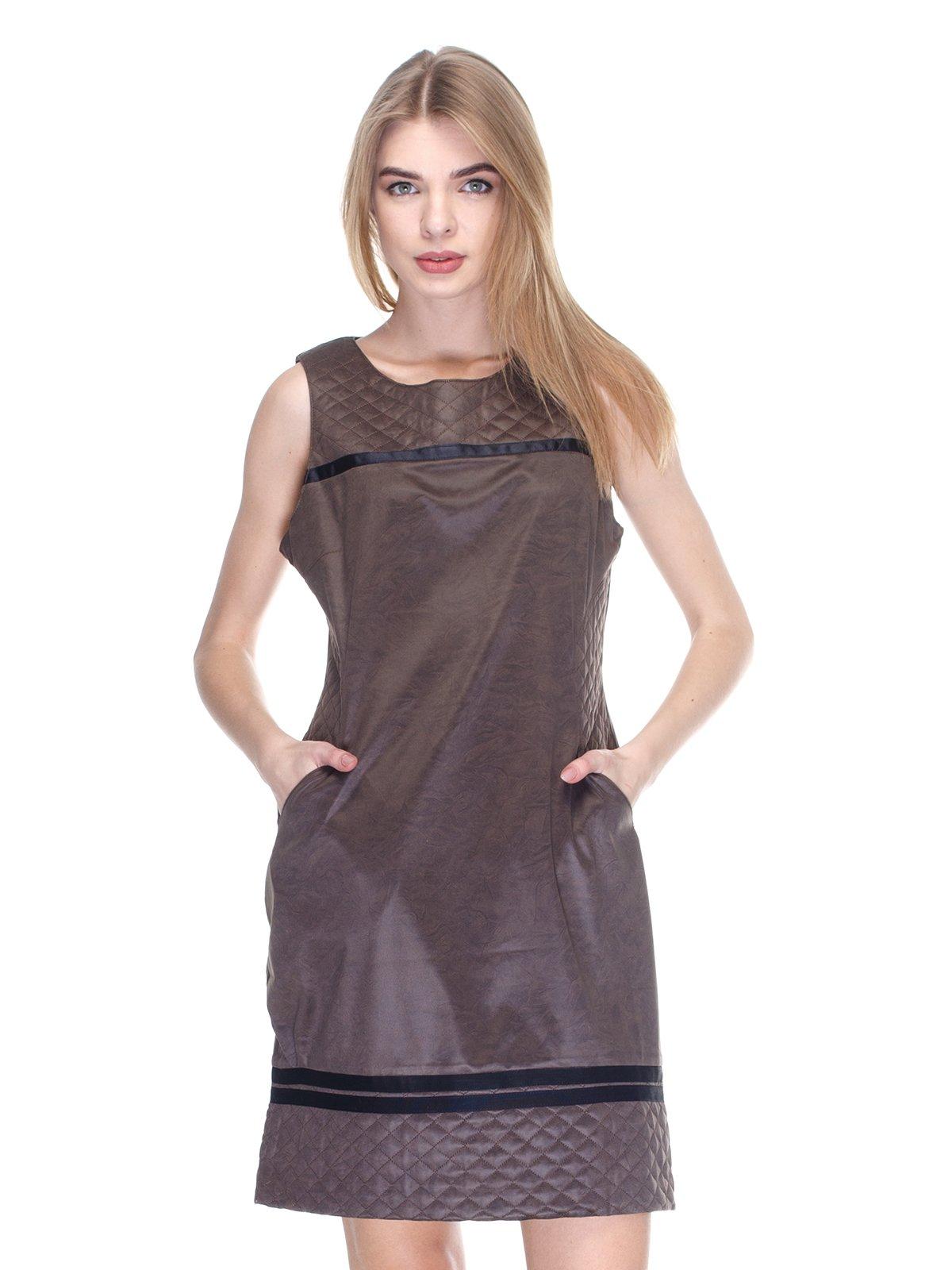 Платье коричневое | 2946825