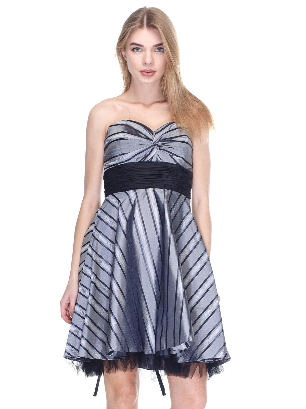 Платье серо-черное   2946775