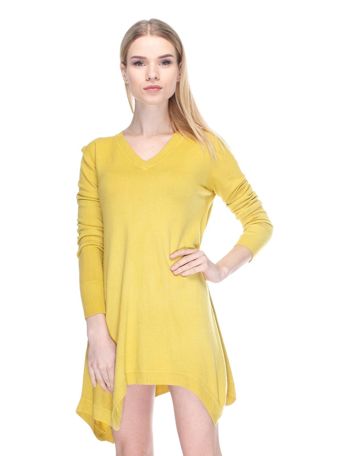 Платье желтое | 2863889