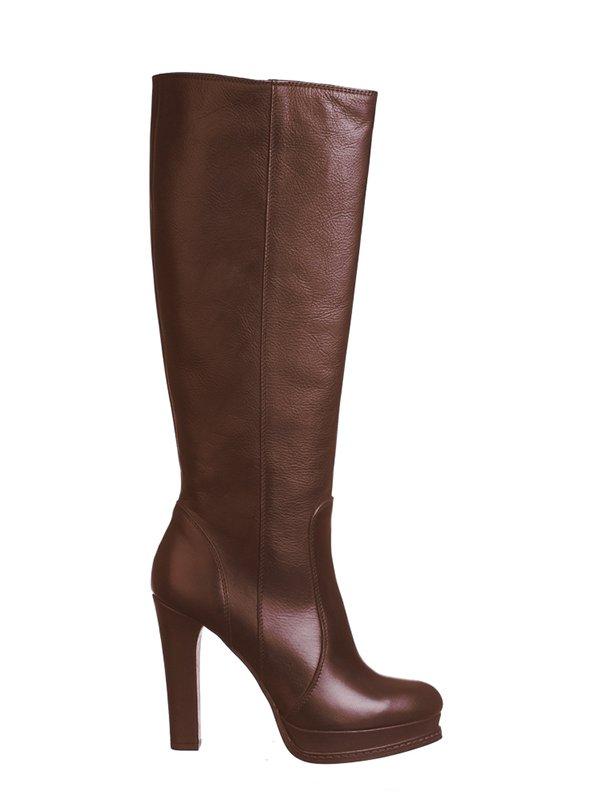 Чоботи коричневі | 2757188