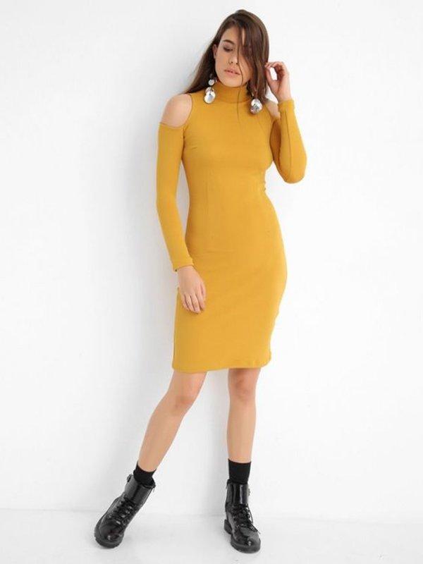 Платье желтое   2954965