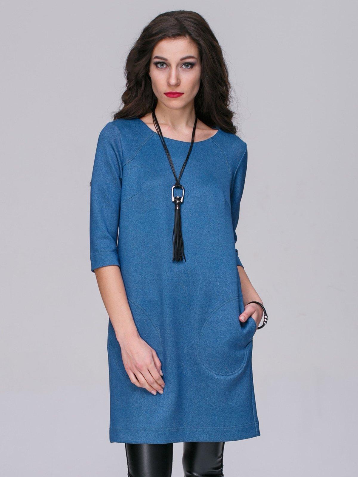 Платье голубое | 2955872