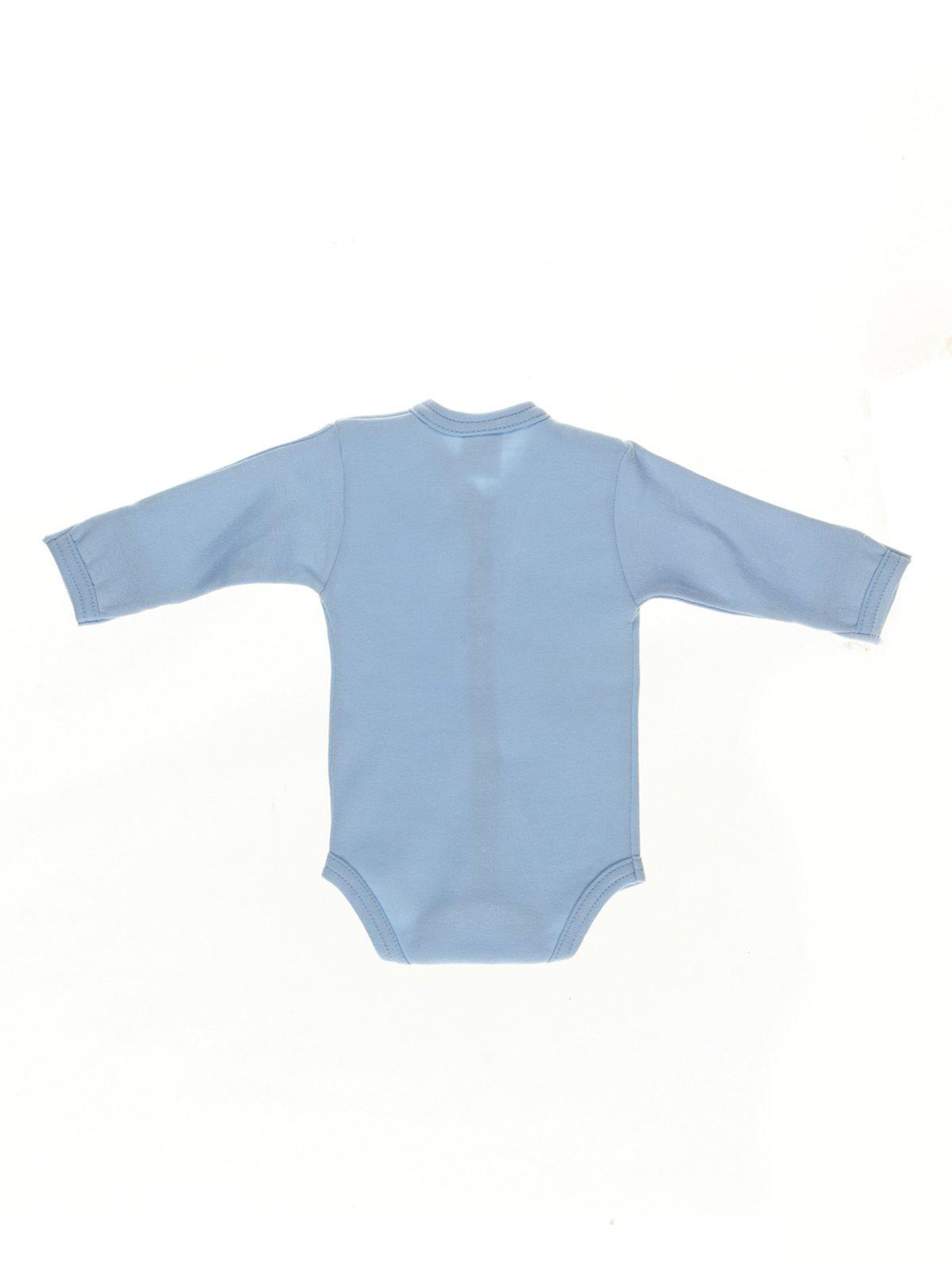 Боди голубое | 2954751 | фото 2