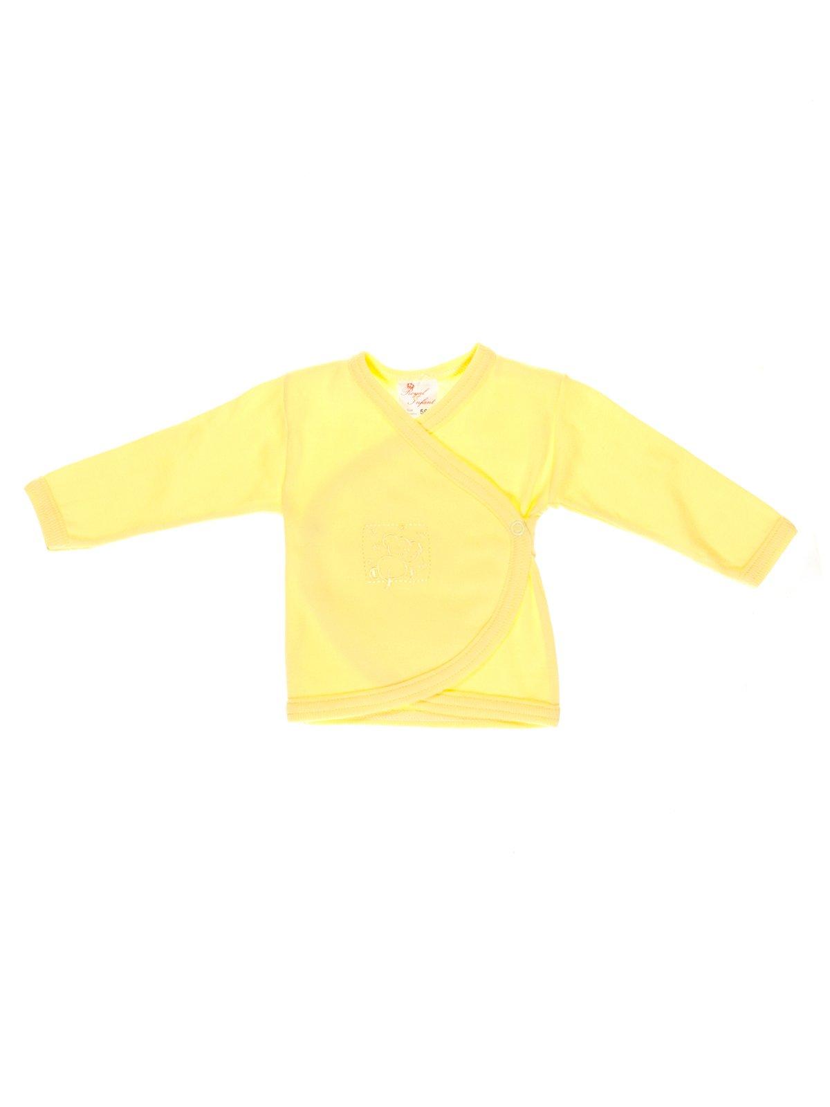 Распашонка желтая | 2929960