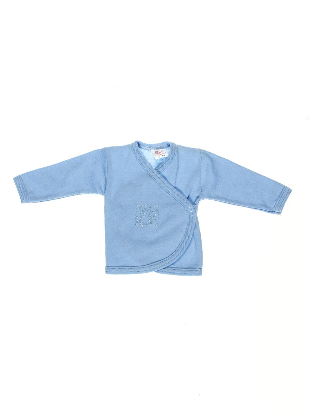 Распашонка голубая | 2929958