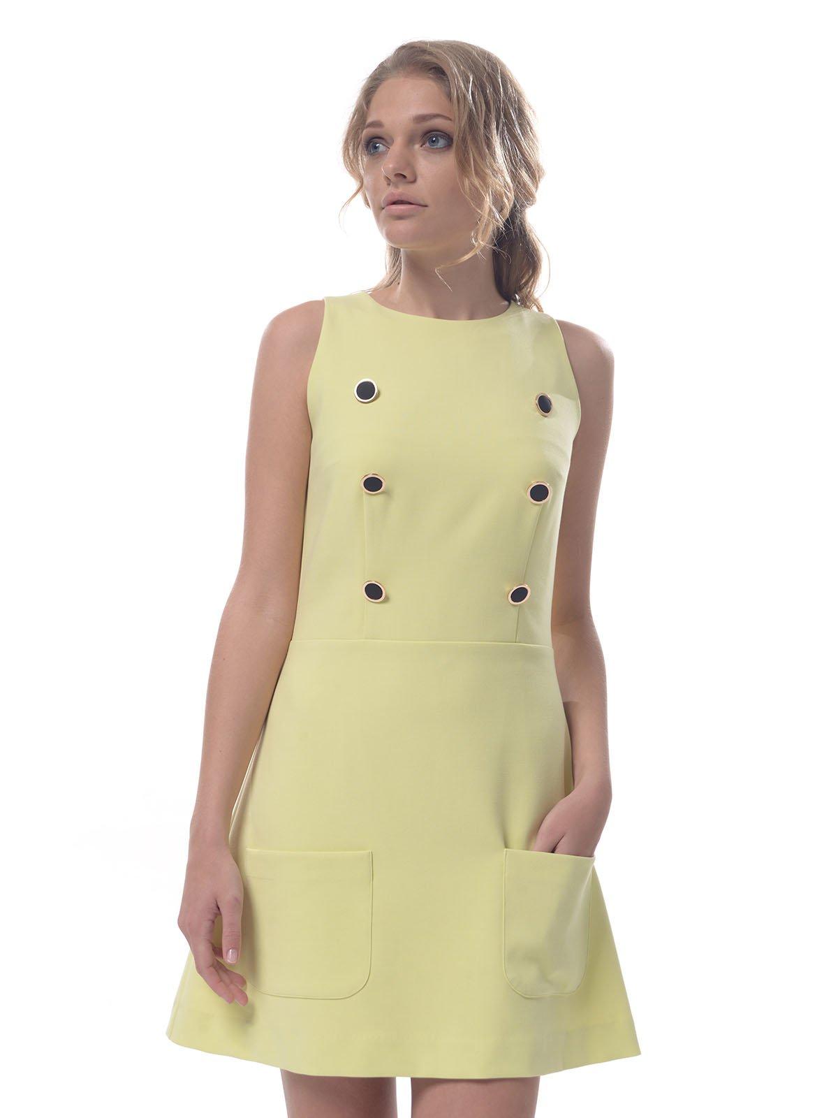 Платье желтое | 2957298