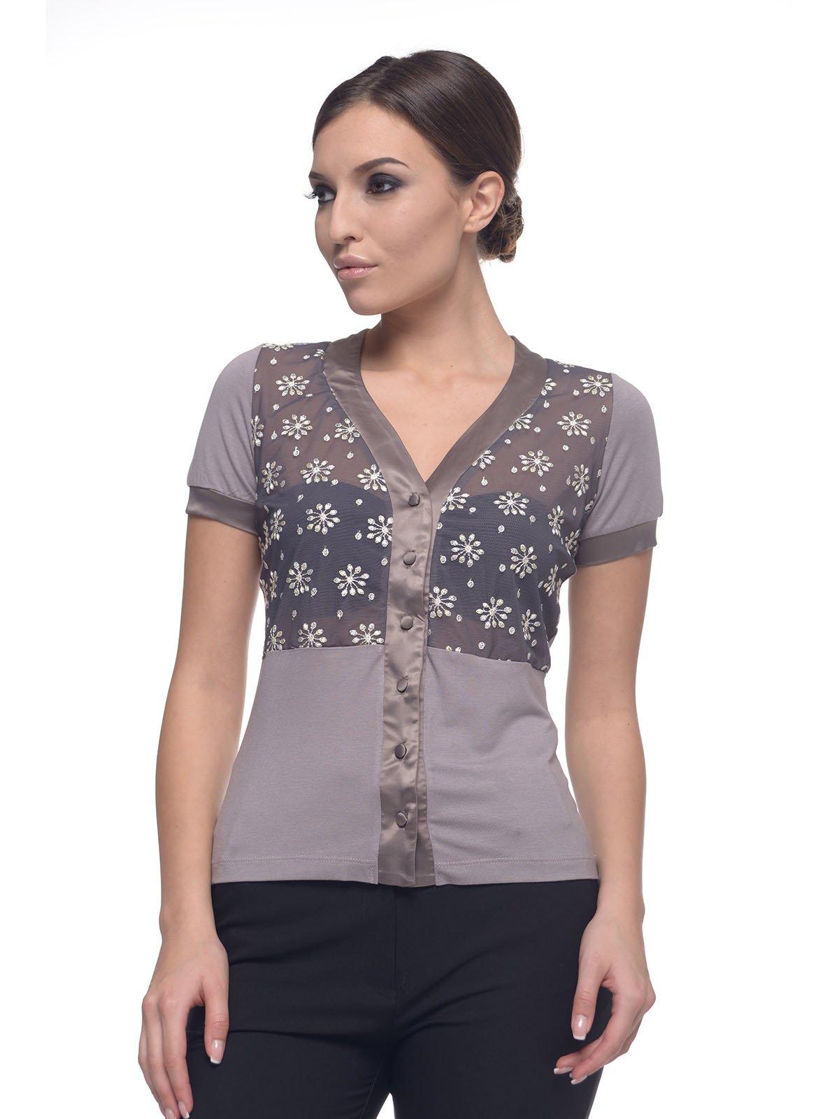 Блуза сіра | 2957305