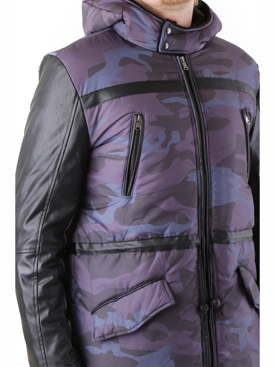 Куртка серая с принтом | 2962179 | фото 4