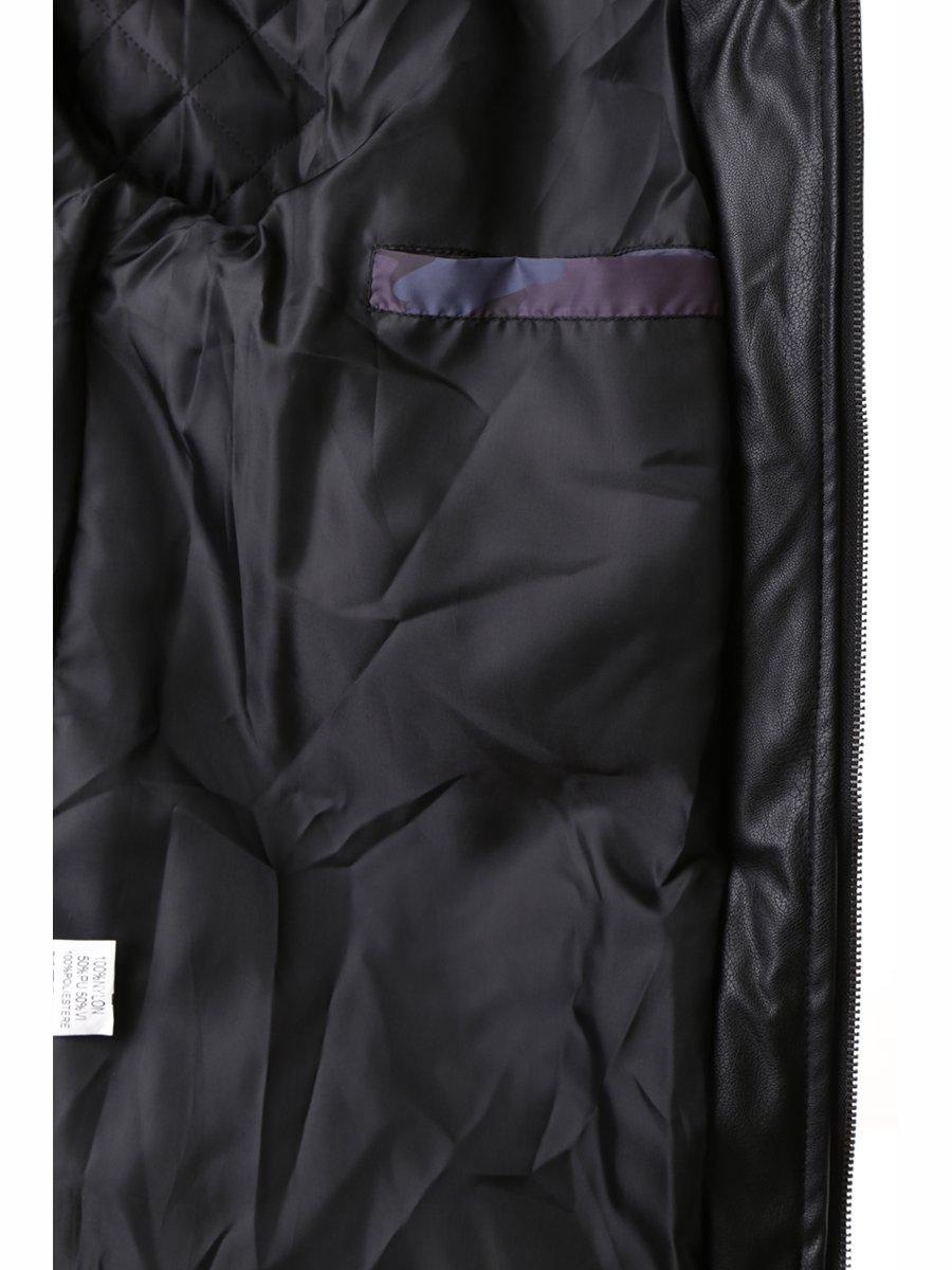Куртка серая с принтом | 2962179 | фото 5