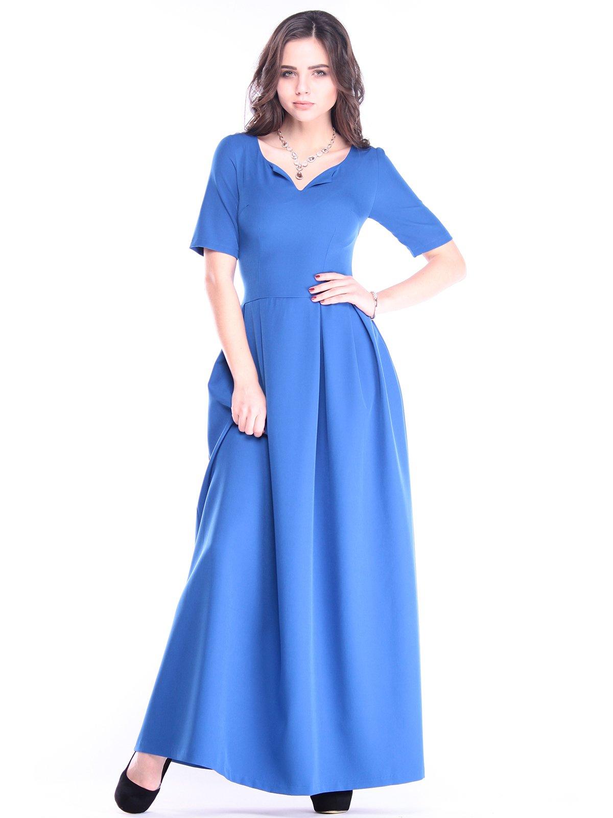 Платье цвета электрик | 2962743