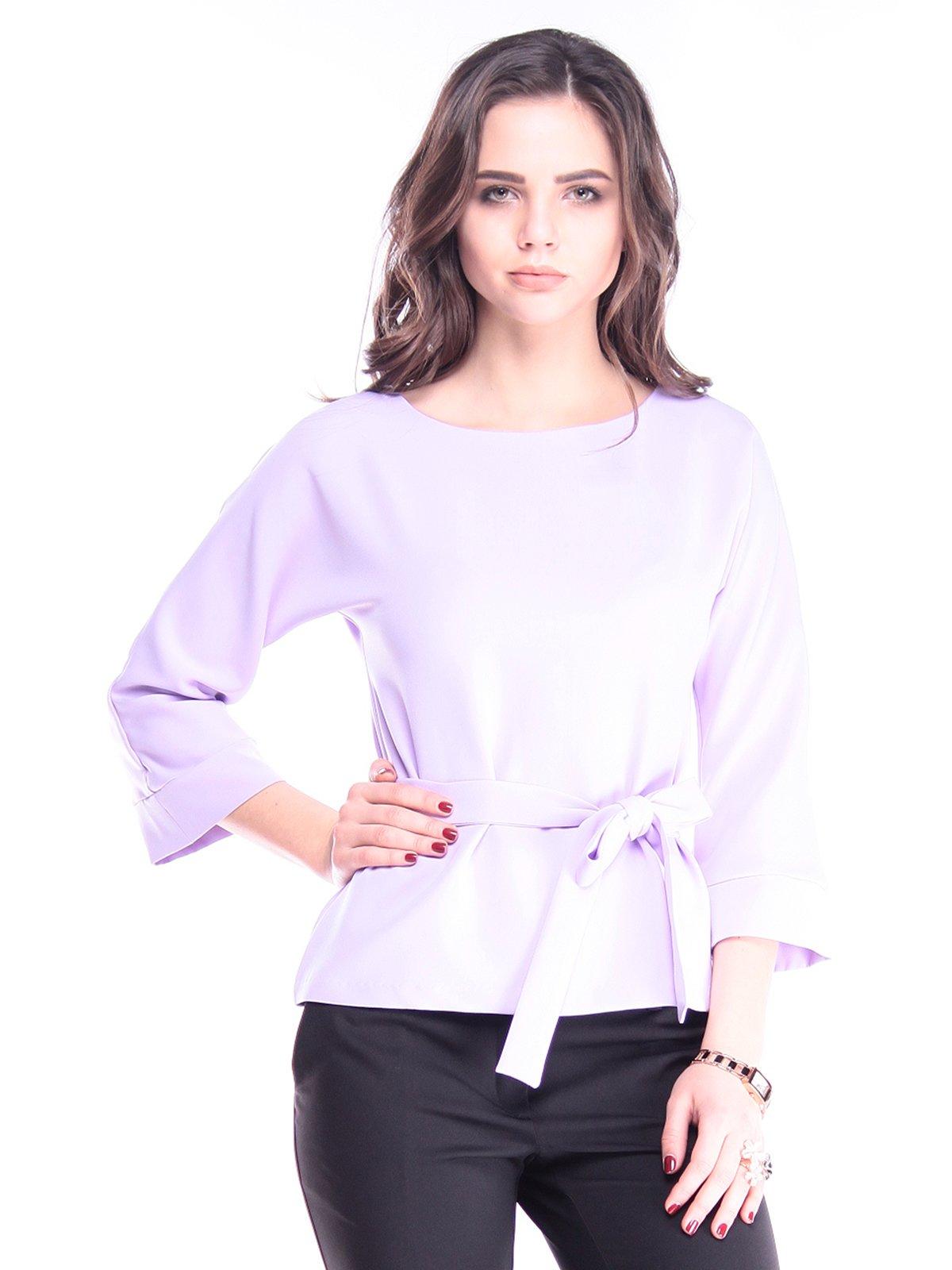Блуза світло-бузкова | 2962823