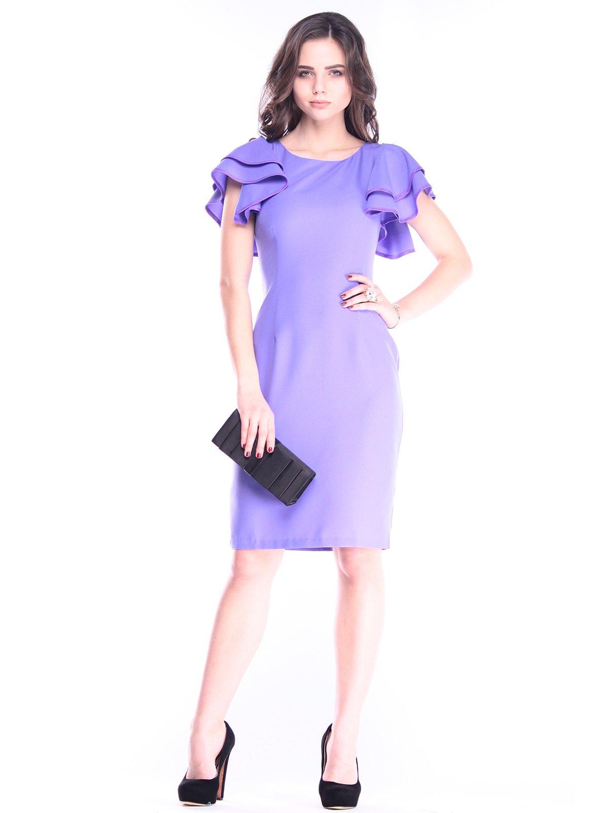 Платье светло-фиалковое | 2962879