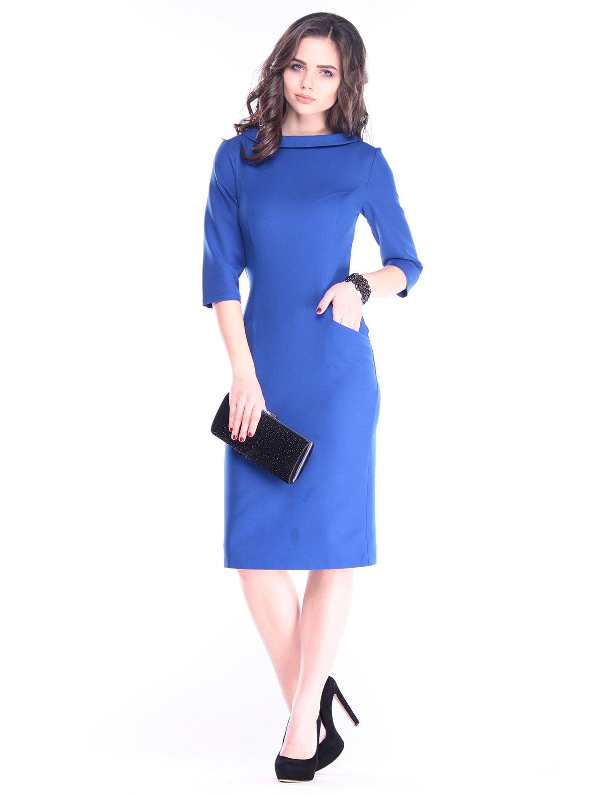 Платье цвета электрик | 2962881
