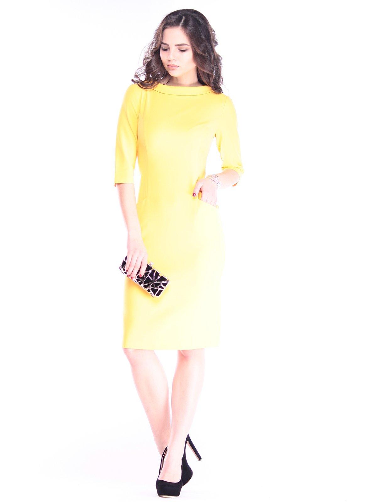 Сукня сонячного кольору   2962883