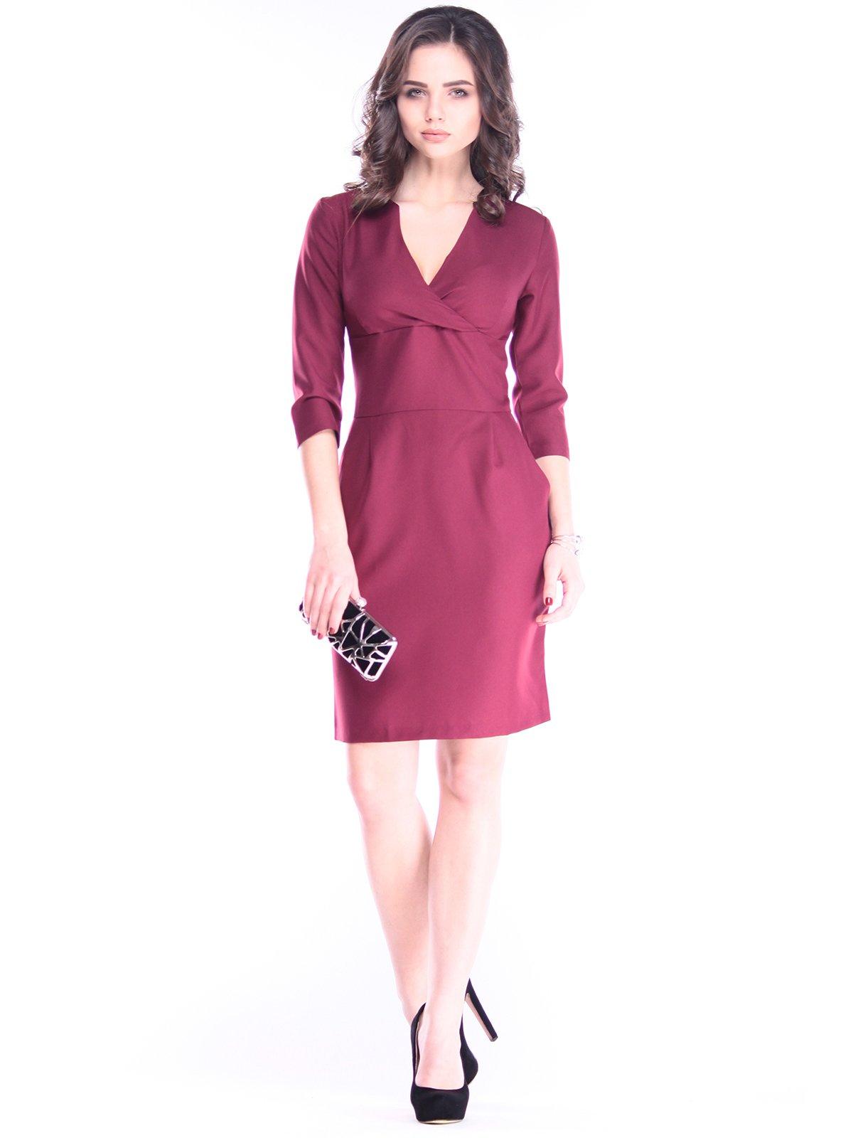 Платье сливового цвета | 2962902