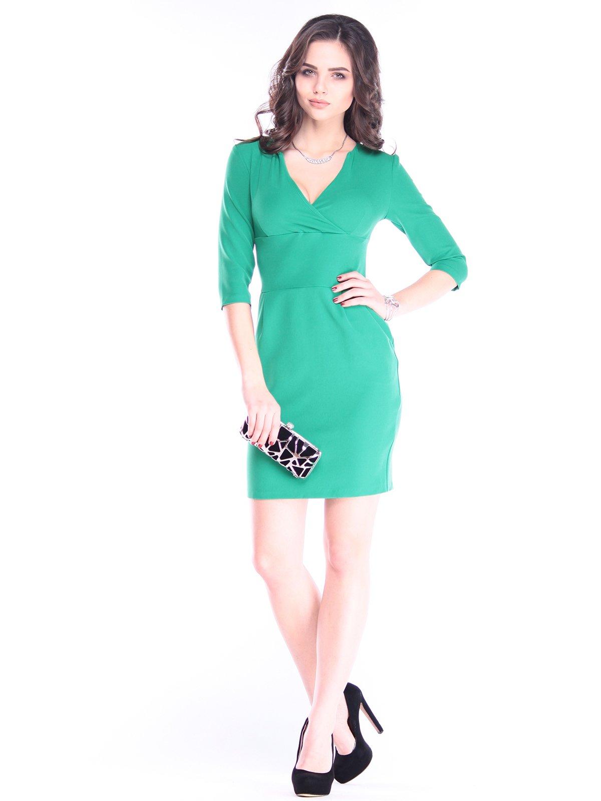 Платье травянистого цвета | 2962906