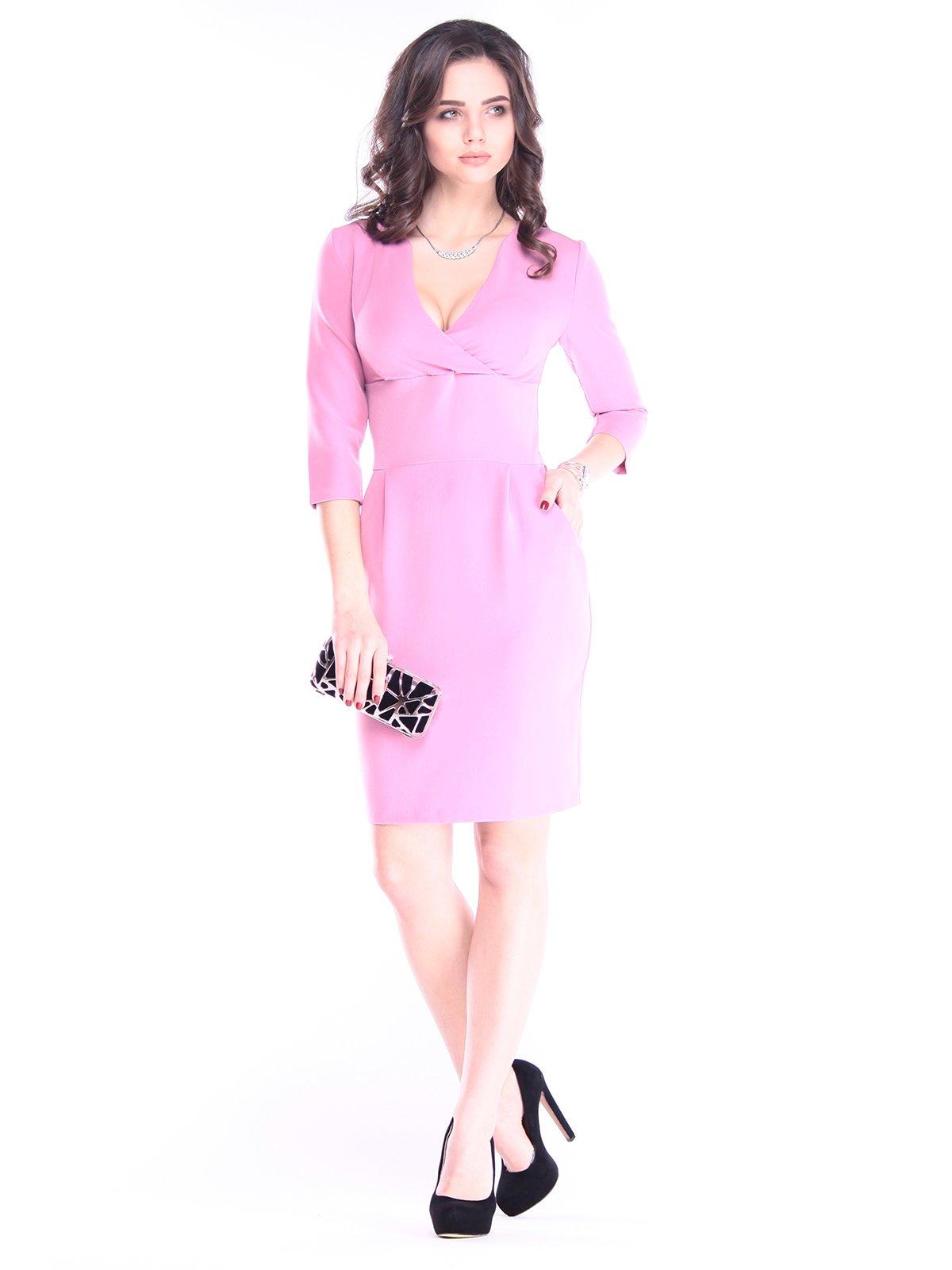 Сукня кольору рожевого серпанку | 2962908