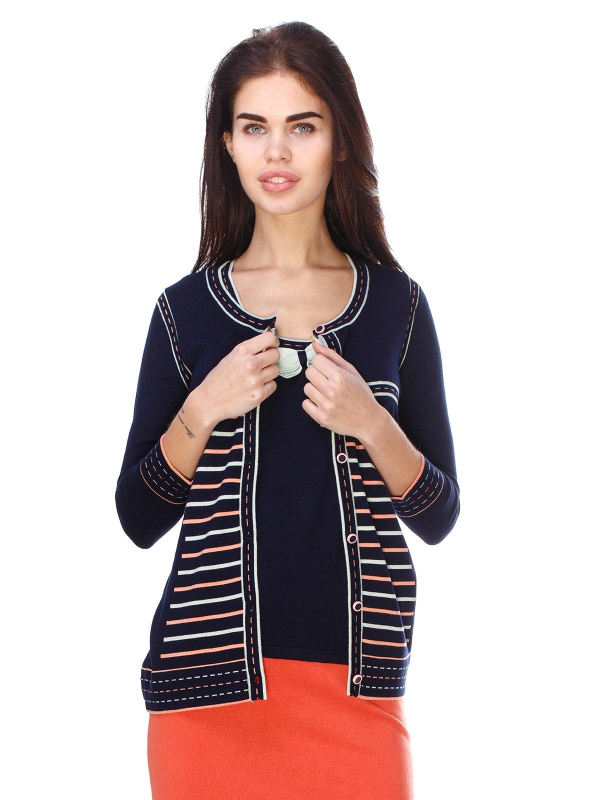 Комплект: кофта і блуза   2316598