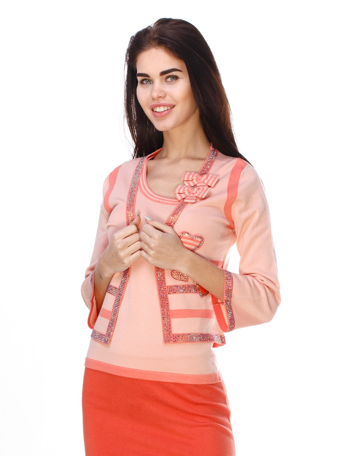 Комплект: кофта і блуза | 2316652