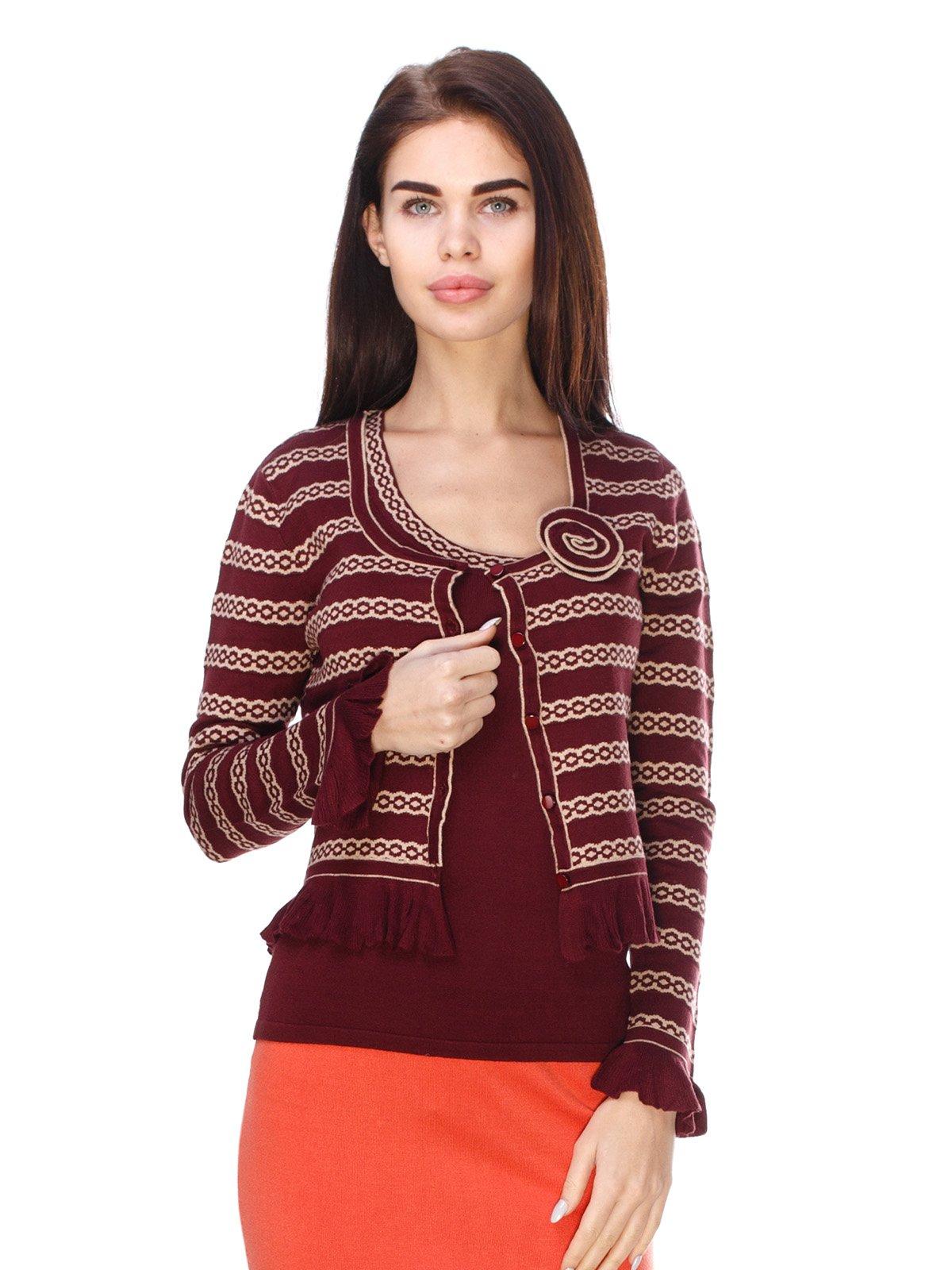 Комплект: блуза і кофта | 2635272