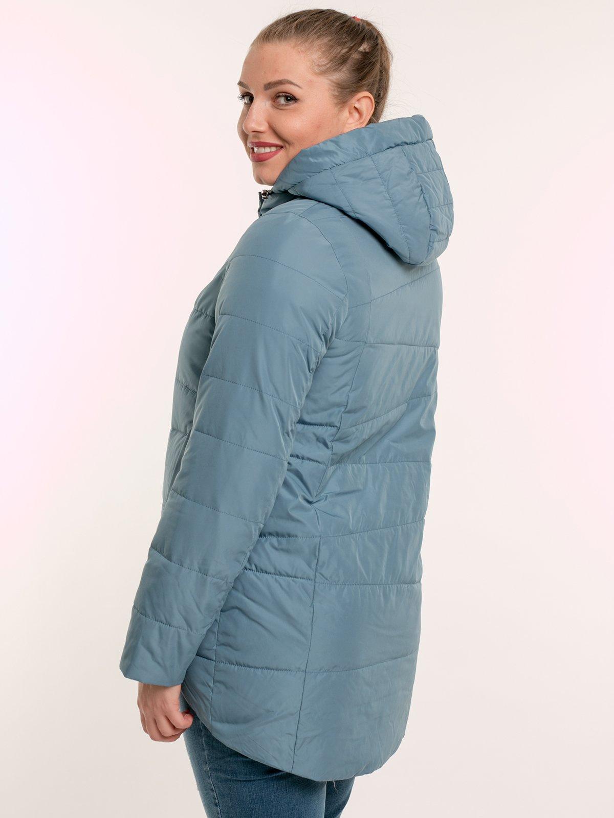 Куртка цвета мяты | 2971436 | фото 3