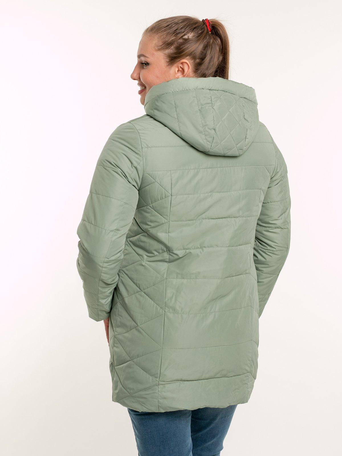 Пальто зеленое | 2971446 | фото 3