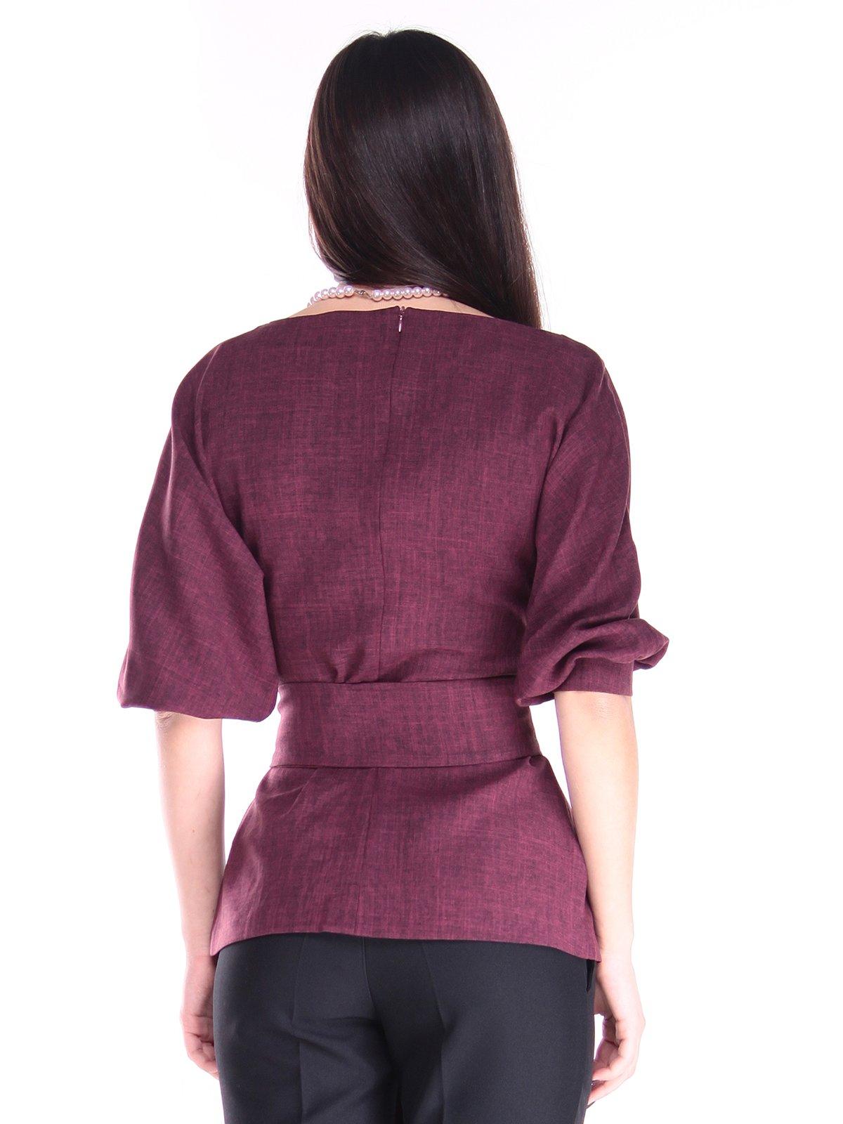 Блуза сливового цвета | 2952446 | фото 2