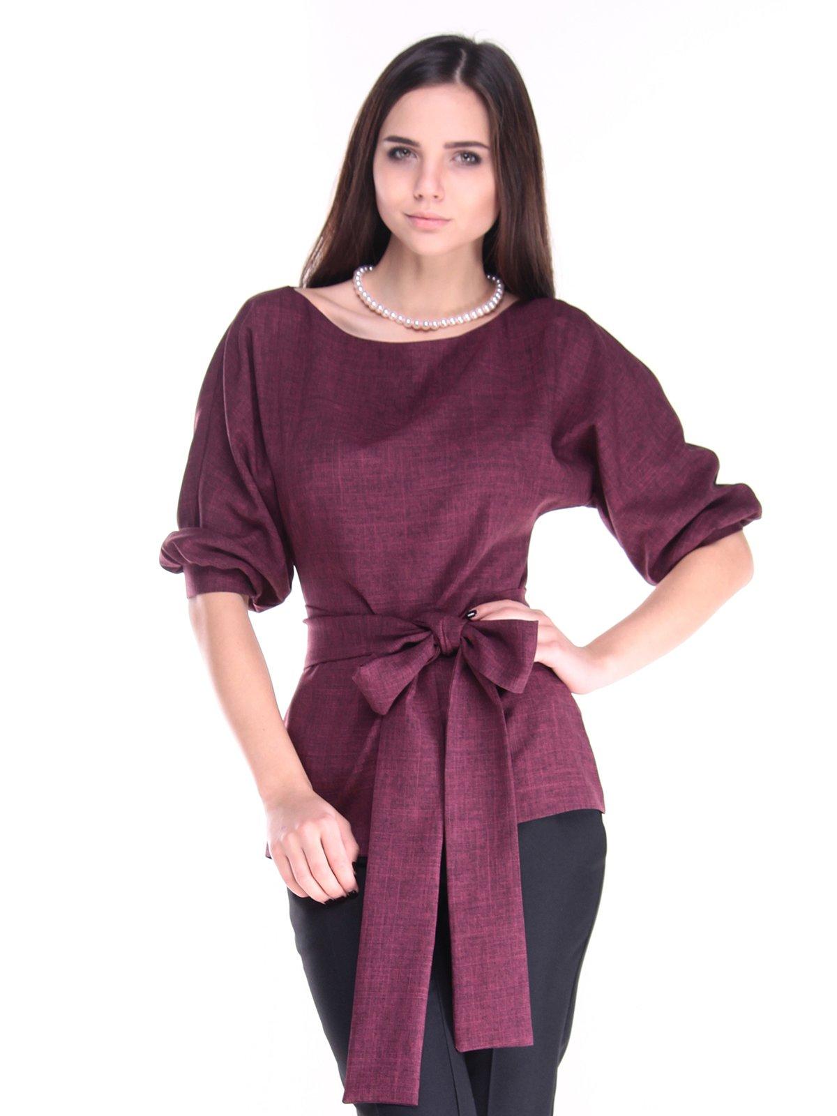 Блуза сливового цвета | 2952446 | фото 4