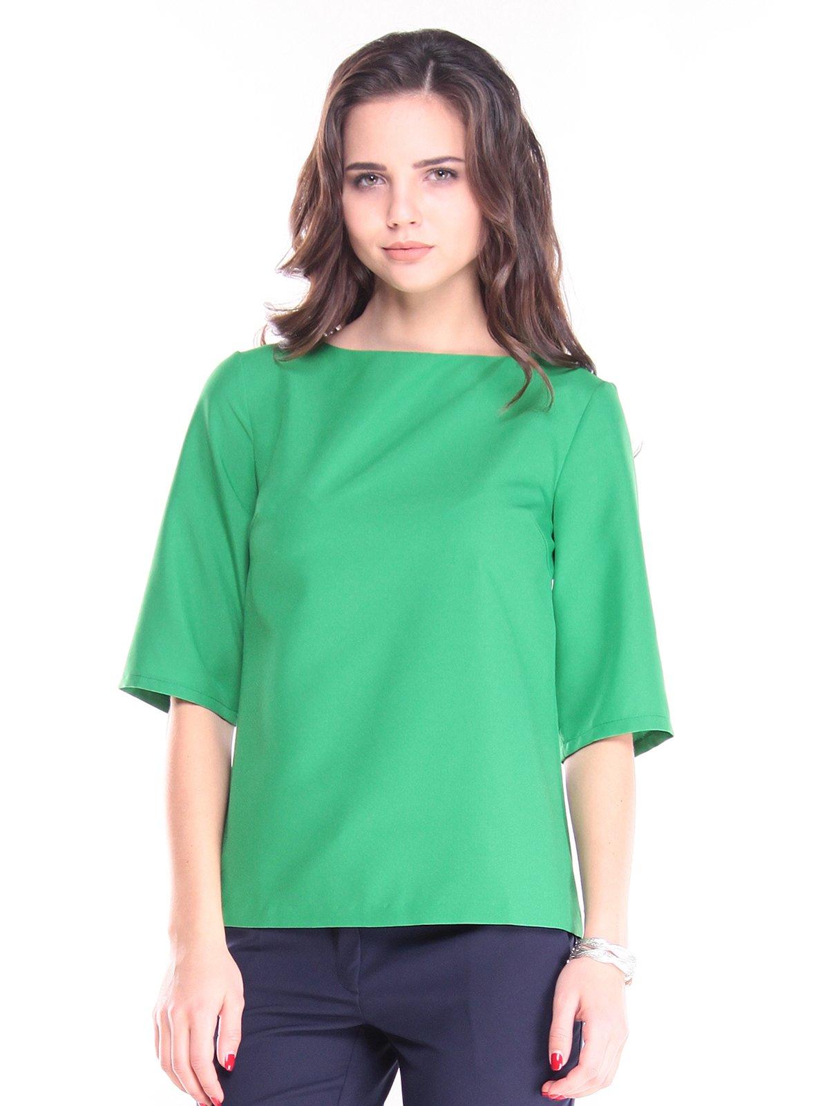 Блуза зеленая | 2844971