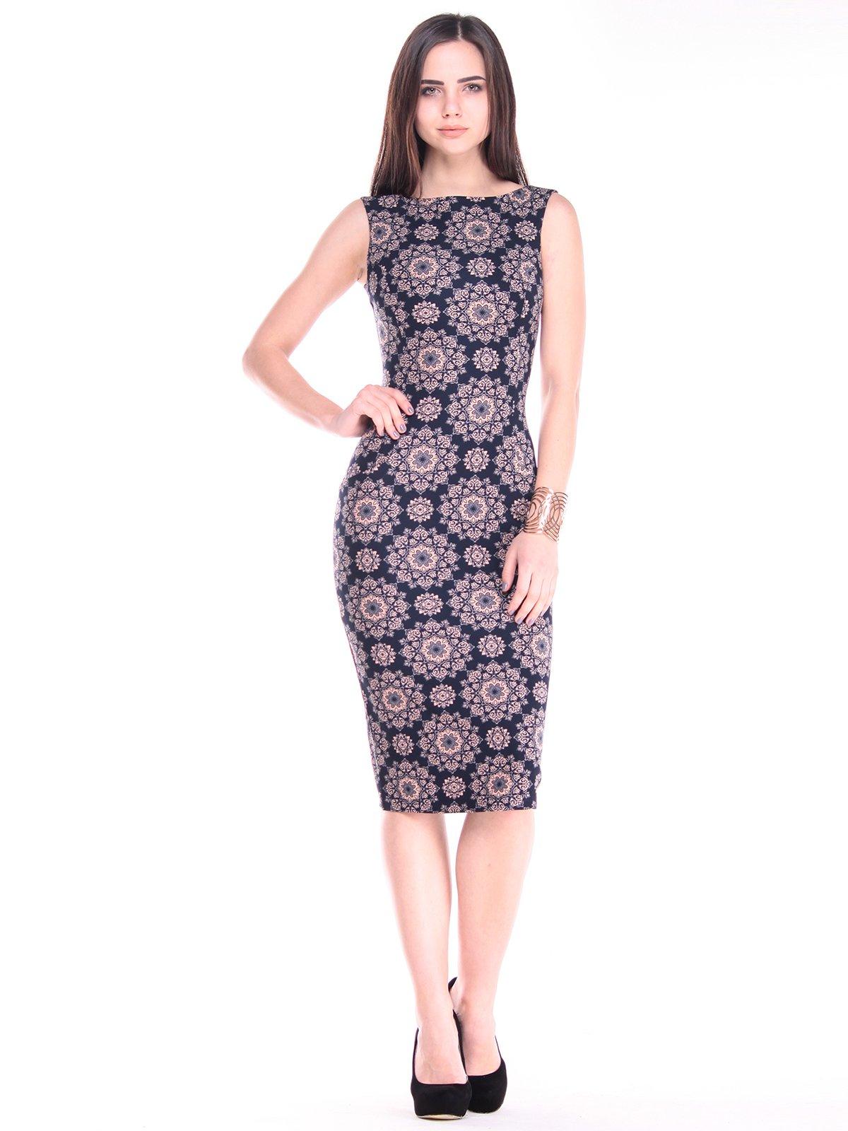 Платье в принт   2884934