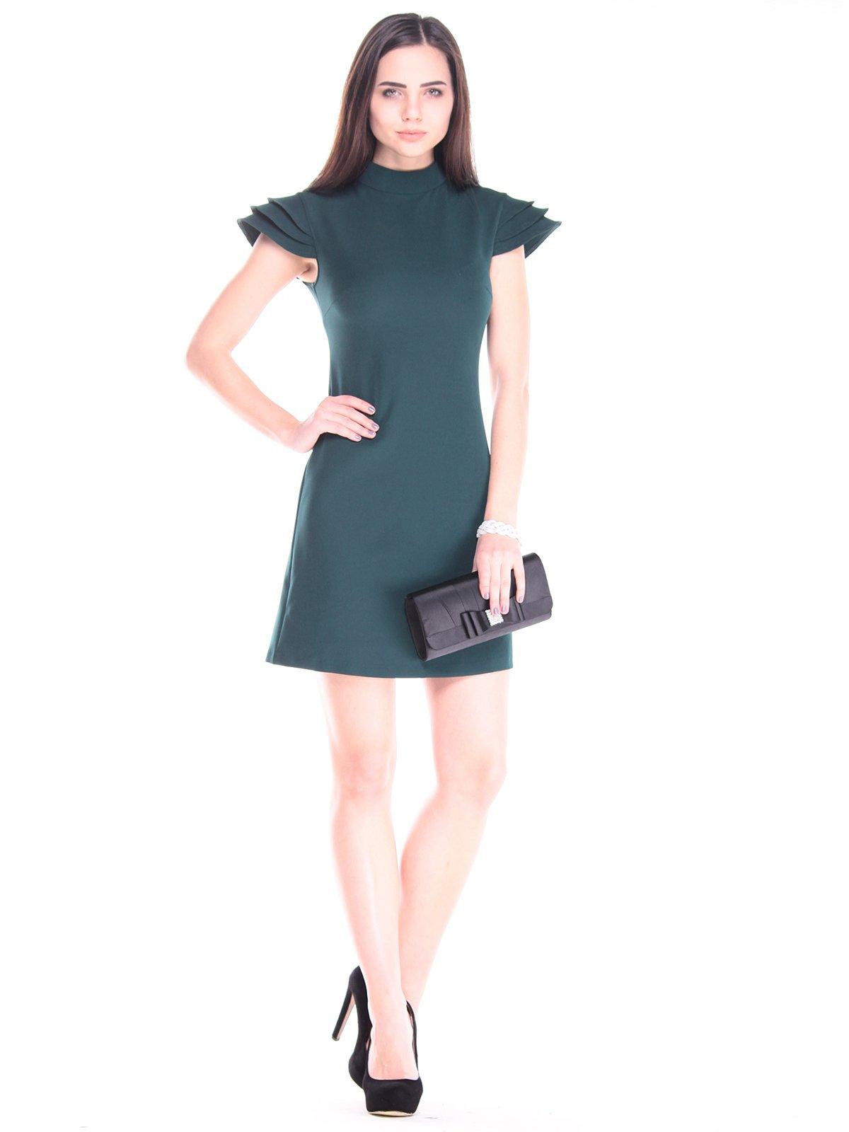 Платье темно-изумрудного цвета | 2917849