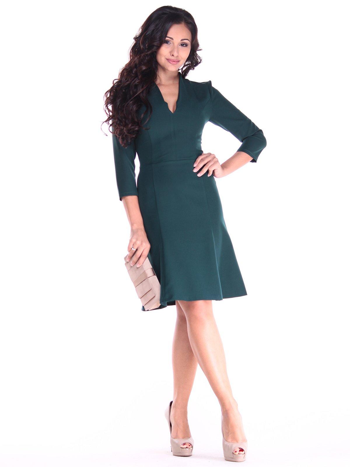 Платье темно-изумрудного цвета   2917854
