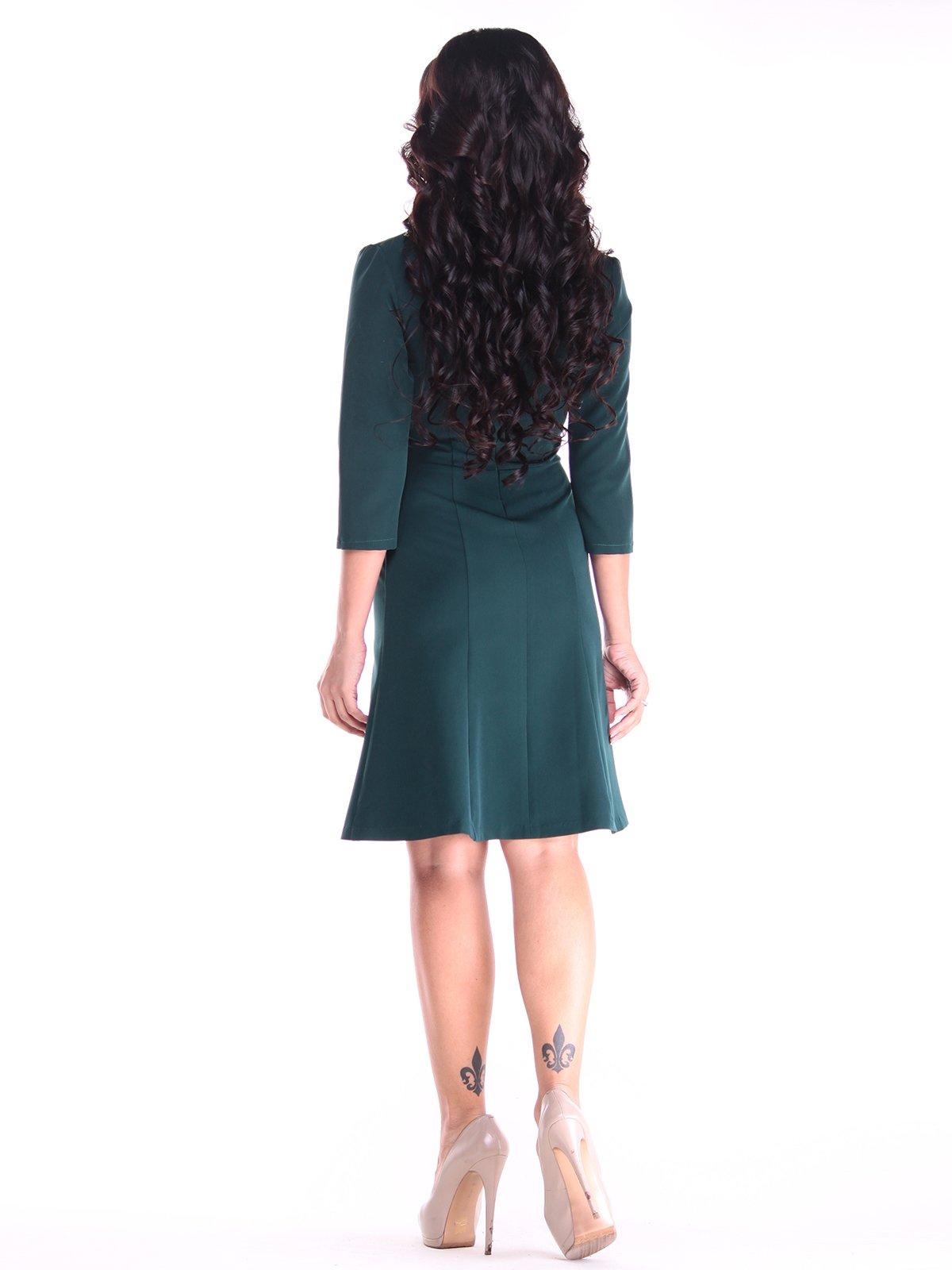 Платье темно-изумрудного цвета   2917854   фото 2
