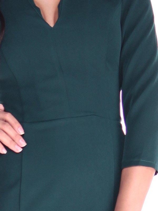 Платье темно-изумрудного цвета   2917854   фото 3