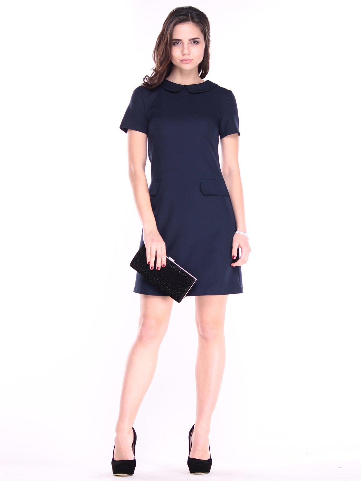 Сукня темно-синя | 2925429