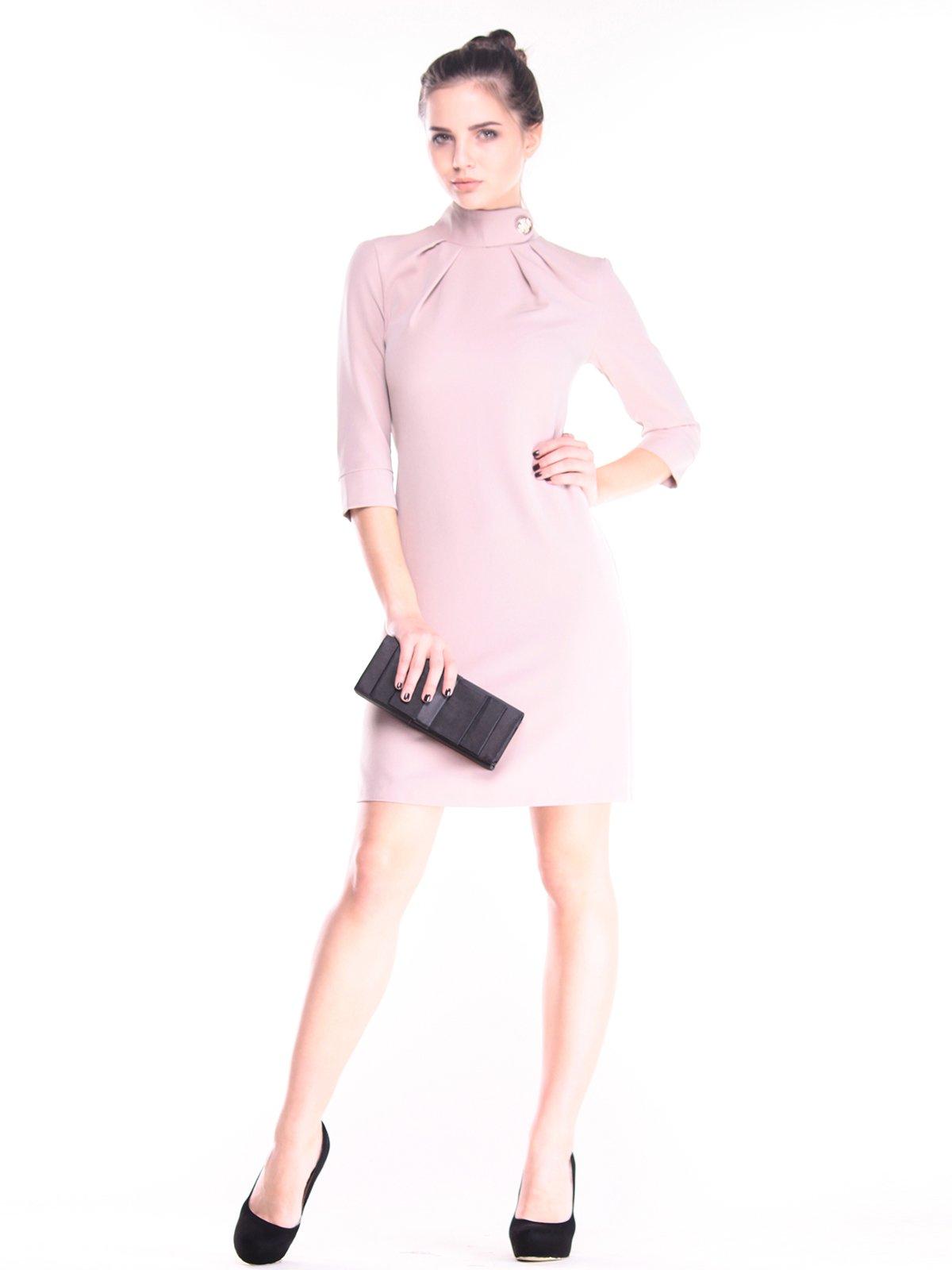 Платье цвета кофе с молоком | 2952459